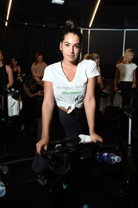 [1175607849] Victoria's Secret Angel Cycle To End Cancer Hosted By Angels Martha Hunt, Josephine Skriver, Alexina Graham, Chey Carty, Gizele Oliveira, Josie Conseco, Lorena Duran And Sofie Rovenstine At Flywhee.jpg