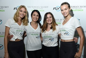[1175607835] Victoria's Secret Angel Cycle To End Cancer Hosted By Angels Martha Hunt, Josephine Skriver, Alexina Graham, Chey Carty, Gizele Oliveira, Josie Conseco, Lorena Duran And Sofie Rovenstine At Flywhee.jpg