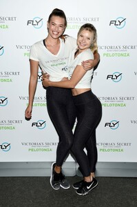 [1175607822] Victoria's Secret Angel Cycle To End Cancer Hosted By Angels Martha Hunt, Josephine Skriver, Alexina Graham, Chey Carty, Gizele Oliveira, Josie Conseco, Lorena Duran And Sofie Rovenstine At Flywhee.jpg