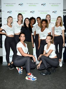 [1175607797] Victoria's Secret Angel Cycle To End Cancer Hosted By Angels Martha Hunt, Josephine Skriver, Alexina Graham, Chey Carty, Gizele Oliveira, Josie Conseco, Lorena Duran And Sofie Rovenstine At Flywhee.jpg