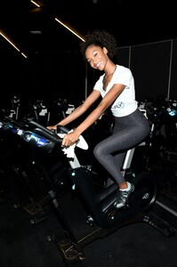 [1175607831] Victoria's Secret Angel Cycle To End Cancer Hosted By Angels Martha Hunt, Josephine Skriver, Alexina Graham, Chey Carty, Gizele Oliveira, Josie Conseco, Lorena Duran And Sofie Rovenstine At Flywhee.jpg