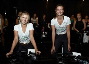 [1175607844] Victoria's Secret Angel Cycle To End Cancer Hosted By Angels Martha Hunt, Josephine Skriver, Alexina Graham, Chey Carty, Gizele Oliveira, Josie Conseco, Lorena Duran And Sofie Rovenstine At Flywhee.jpg