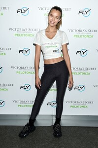 [1175607235] Victoria's Secret Angel Cycle To End Cancer Hosted By Angels Martha Hunt, Josephine Skriver, Alexina Graham, Chey Carty, Gizele Oliveira, Josie Conseco, Lorena Duran And Sofie Rovenstine At Flywhee.jpg