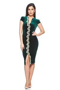 a800--StarShinerS--Fofy occasional green pencil dress embroidery details--S026204-1--264690.jpg