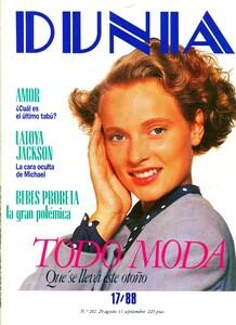 DUNIA Wendy Visser,DUNIA Magazine,#º 282 Week from August 29 to September 11 1988.jpg