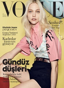 Vogue Turkey (April 2018) - Sasha Pivovarova - 001.jpg