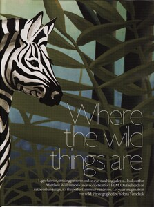 Vogue UK (June 2009, Supplement) - Where The Wild Things Are - 002.jpg