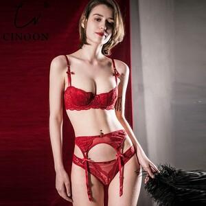 CINOON-Sexy-Mousse-plus-size-bra-set-Embroidery-Half-Cup-Lingerie-Temptation-Bra-panties-Garters-Set.jpg