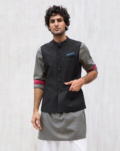 Black Nehru jacket