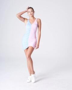 Pink_Lt Blue Ruched Front Tank Dress_0001.jpg