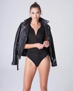 Black Plunging Bodysuit Rayon Jersey_0006.jpg