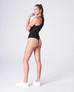Black Plunging Bodysuit Rayon Jersey_0004.jpg