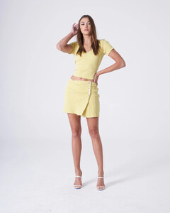 Yellow Button Up Skirt.jpg