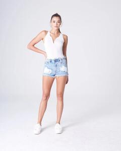 White Plunging Bodysuit Rayon Jersey_0003.jpg