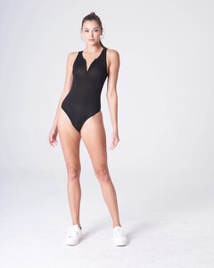 Black Plunging Bodysuit Rayon Jersey_0002.jpg