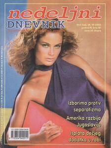 Nedeljni dnevnik Serbia July 2000 Carolyn Murphy.jpg