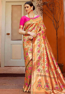 Golden-Silk-Saree-With-Blouse-4.jpg