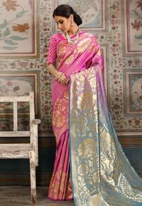 Pink-Kanjivaram-Silk-Saree-With-Blouse-3.jpg