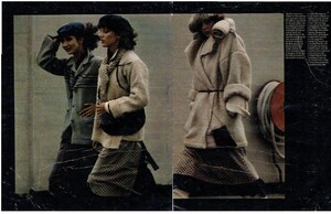 On the right might be Barbara De Vries. Model on the left  is unidentified.jpg