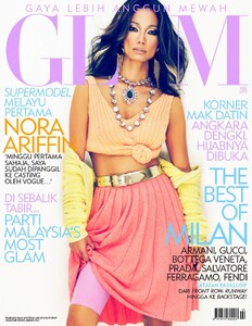 Nora Ariffin - (Malaysia) GLAM February 2012.jpg