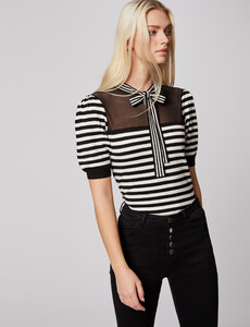pull-manches-courtes-a-rayures-ecru-femme-or-32536300846900201.jpg