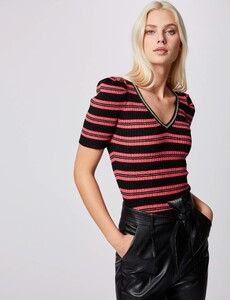 pull-manches-courtes-a-rayures-noir-femme-or-32536300846730100.jpg
