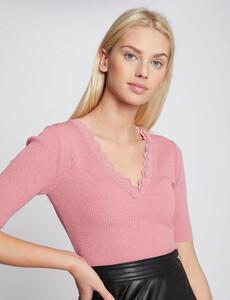 pull-manches-courtes-avec-bord-festonne-rose-femme-or-32536300856970503.jpg