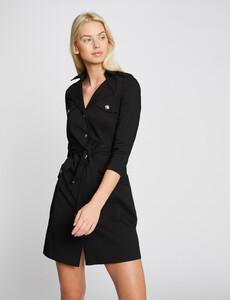 robe-droite-boutonnee-et-ceinturee-noir-femme-or-32536300856810100.jpg