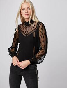 t-shirt-manches-longues-avec-plumetis-noir-femme-or-32536300846700100.jpg