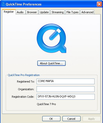 QuickTime X Player vs. QuickTime 7 Player. . Here is what Apple says about